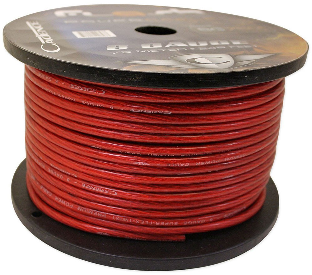 16 ft power cable 3 ft ground cable 17 ft rca cable 17 ft speaker cable 17 ft remote wire 18 ga split loom for cable